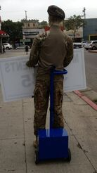 advertising - SIGN-HOLDING-WAVING-ROBOT-MANNEQUIN-MACHINE,